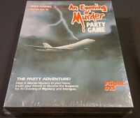 An Evening of Murder SEALED Max Haines FLIGHT 013 Party Adventure Game