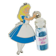 Disney Parks Alice In Wonderland Alice with Drink Me Bottle Pin Trading Pins
