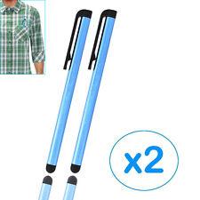 FOR Sony Xperia SL/Xperia Arc Dark Blue Metallic Capacitive Stylus Pens