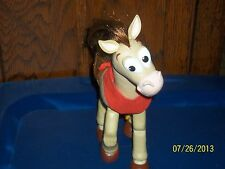 2001 DISNEY PIXAR HASBRO TOY STORY BULLSEYE HARD PLASTIC REALISTIC HAIR HORSE