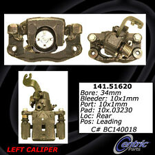 Centric Parts 141.51620 Rear Left Rebuilt Brake Caliper With Hardware
