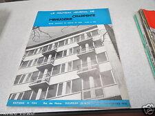 LE NOUVEAU JOURNAL DE CHARPENTE MENUISERIE N° 11 novembre 1958 H VIAL *