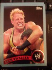 2011 Topps WWE Wrestling BLUE #49 Jack Swagger  #d 1508/2011