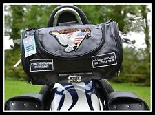 Sissy bar bag Leather Eagle Soft / Live To Ride (custom motorcycle trike) NEW