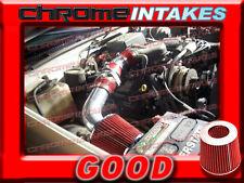 RED 1996-2000 GMC/CHEVY SIERRA C/K 1500/2500/3500 5.0L 5.7L AIR INTAKE KIT 2P