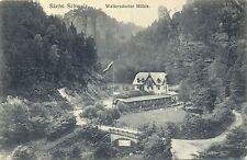 Waltersdorfer Mühle, Sächs. Schweiz, 1911
