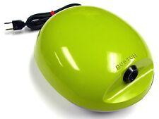 VINTAGE - BOSTON AVOCADO GREEN ELECTRIC PENCIL SHARPENER #16 EGG OVAL SHAPE