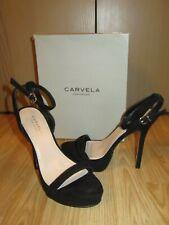 CARVELA KURT GEIGER Womens Black Suede Shoes Size EU 40 / UK 6.5 Great RRP£120