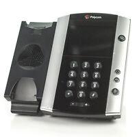 Polycom VVX 500 Gigabit Touchscreen IP VoIP Phone 2200-44500-001 -BASE UNIT ONLY