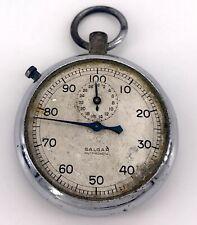 Salgar Vintage Chronostop Manual Pocket Watch Pocket 49,5 mm Non Working 3WC