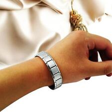 Health Bracelet Power Nano Energy Germanium Magnetic Balance Ion Silve Titanium