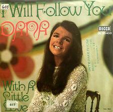 "7"" 1970 GERMAN PROMO RARE DANA I Will Follow You MINT-?"