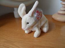Retired Ty Beanie Rabbit Nibbler Teddy Bear Soft Plush Tag Protected 98b01dcdd033