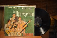 The Highwaymen Encore LP United Artists UAS 6225 Stereo