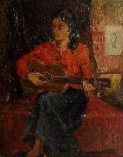 Originale künstlerische Öl-Malerei mit Porträt- & Personen-Motiv