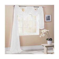 Blanco 150x300cm 150x300cm a Medida Cortina voilé para ventana guardamalleta