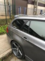 RARE Performance SPOILER for BMW E91 TOURING aerodynamic TAILGATE ROOF Door Wing