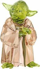 Swarovski crystal   Disney Star Wars Master Yoda has been kept in box