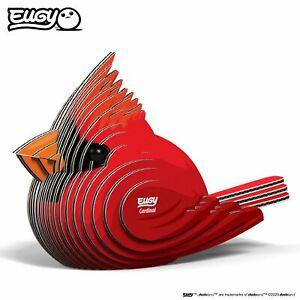 Eugy DoDoLand Red Cardinal 3D Puzzle Collectible Model