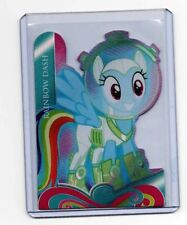 Hasbro My Little Pony Series 4 Trading Cards Die Cut Foil Card - RAINBOW DASH