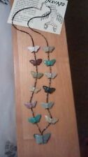 Butterfly Turquoise Stone Costume Jewellery