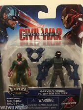 Captain America Civil War Marvel's Vision Vs Winter Soldier