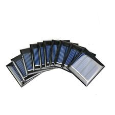 Aiyima 10 Pcs Solar Panel Home Solar Cell DIY Battery Charge 40*40mm 2V 60mA
