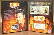 ELVIS PRESLEY * Americana * Colorized US $2 Bill with COLLECTIBLE FOLIO Licensed