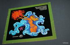 60-70s   booklet Vintage USSR  Intourist soviet   russian  black sea