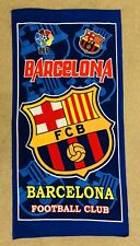 FC Barcelona Beach Towel 75cm X 145cm Good Size Towel With LFP Style.