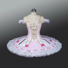 🇺🇸 Professional Pink Summer Fairy Sugar Plum Coppelia Doll Aurora Tutu Costume