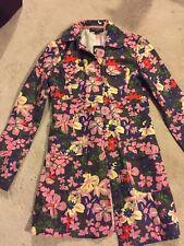 Tara Jarmon for Target Women's Jacket XS  Floral Pink Square retro inspired
