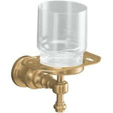 Kohler K-6819-Gd-Bv Iv Georges Brass tumbler and toothbrush holder