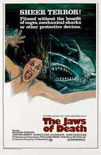 Jaws Of Death Poster 02 A2 Box Canvas Print