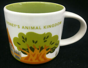 Starbucks Disney Parks Animal Kingdom Disneys You are Here Coffee Mug World
