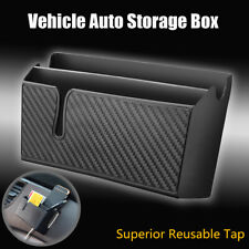 Car Auto Storage Box Case Phone Glasses Holder Organizer Pocket Bag Charge