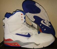 New Nike Air Command Force One Pump White Ultramarine Blue Basketball Shoes 10.5