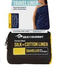 Sea To Summit Silk Cotton Sleeping Bag Liner - Traveller