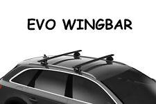 Kit Barre portatutto THULE WingBar nero Opel CROSSLAND X 2017 tetto normale