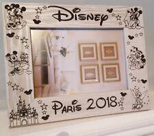 """Disney Paris Photo Frame 7x5"""" Landscape"""