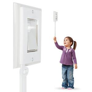 Decora Light Switch Extender ** 2-PACK ** for Kids Toddlers Children Rocker