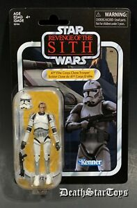 Star Wars Vintage Collection 41st Elite Corps Clone Trooper Revenge Sith VC145