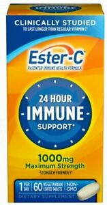 Ester-C 1000 mg Vitamin C Full Immune System Supplement Coated Tablets 60 Tables