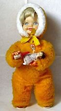 AUTOMATE CARL - RARE POUPEE QUI DONNE LE BIBERON A SON BABY-MADE IN WEST GERMANY