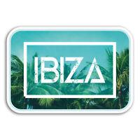 2 x 10cm Ibiza Vinyl Stickers - Spain Cool Travel Sticker Laptop Luggage #18707