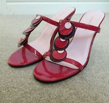 Ladies size 6 pink high heel shoes