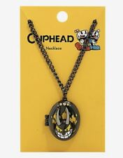 Cuphead And Mugman Don't Deal With The Devil 3D Locket Necklace New With Tags!