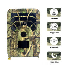 Trail Hunting Camera Outdoor 12MP Game Wildlife Cam PIR Night Vision 120°