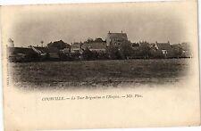 CPA Courville - La Tour Brigantine et l'Hospice   (179698)