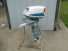 vintage EVINRUDE FISHERMAN outboard  boat motor 5.5 horse   50s or 60s